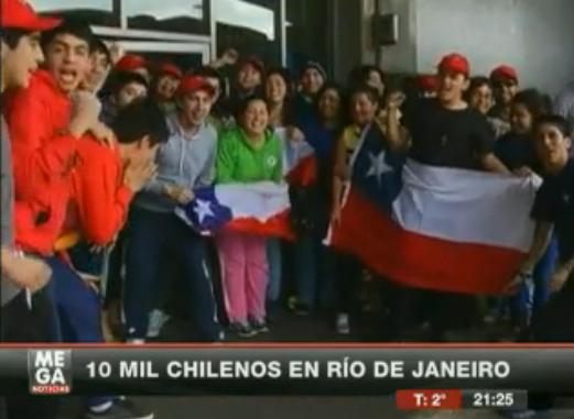 chilenos en brazil