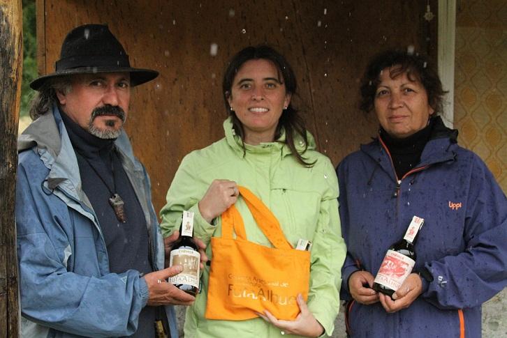 Arturo Vivanco Marcela Bravo Mónica Nieto (socia FutaAlhue)