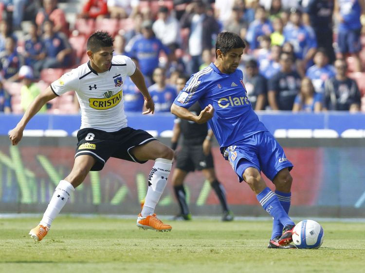 Campeonato Scotiabank Clausura 2013 - 2014. Universidad De Chile vs Colo Colo.