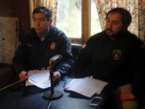Juan Pablo Figueroa y Carlos Espinoza hoy entrevista