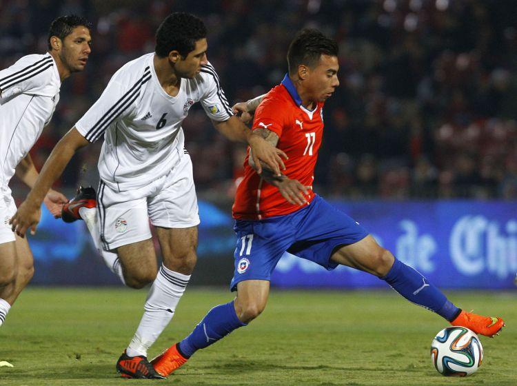 Partido Amistoso Chile vs Egipto