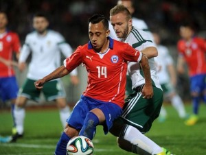 Chile vs Irlanda del Norte