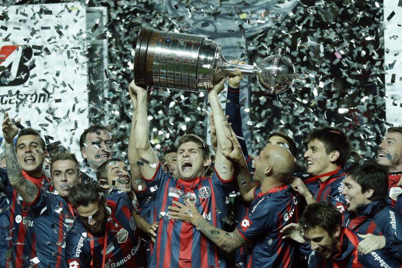 Argentina Paraguay Soccer Copa Libertadores