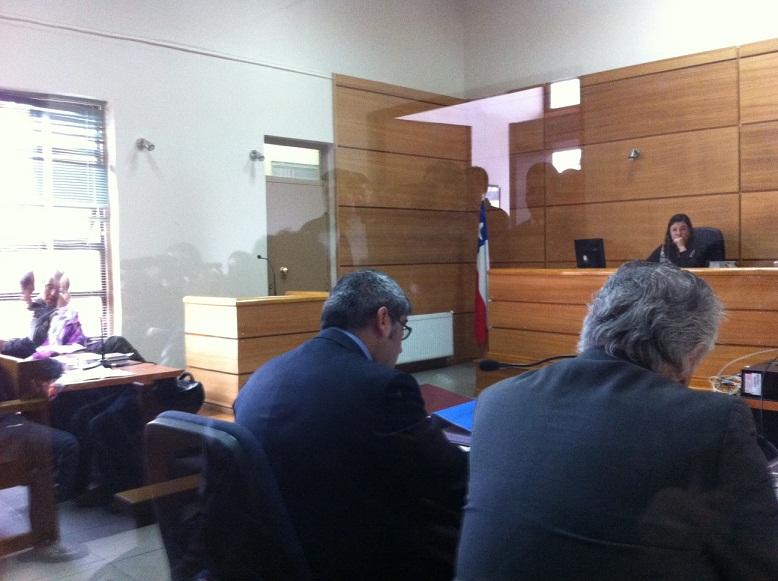 Audiencia formalización caso Municipalidad Llanquihue