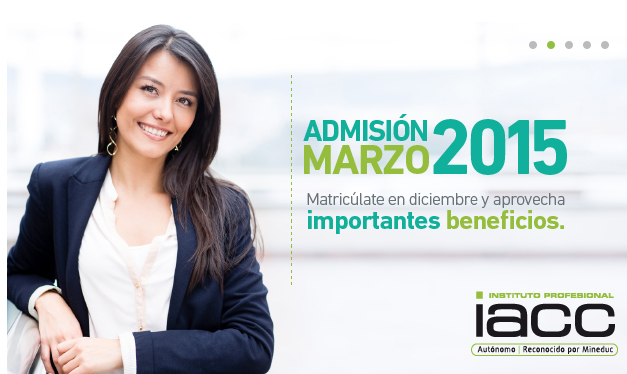 admision iacc 2015
