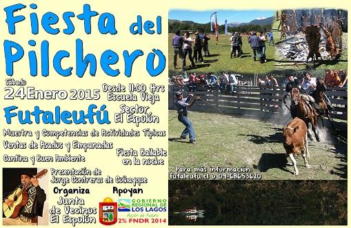 Afiche Fiesta del Pilchero 2015