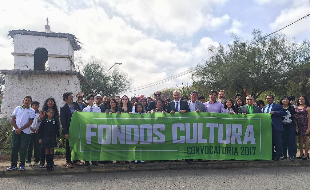 Lanzamiento Fondos Cultura - Arica