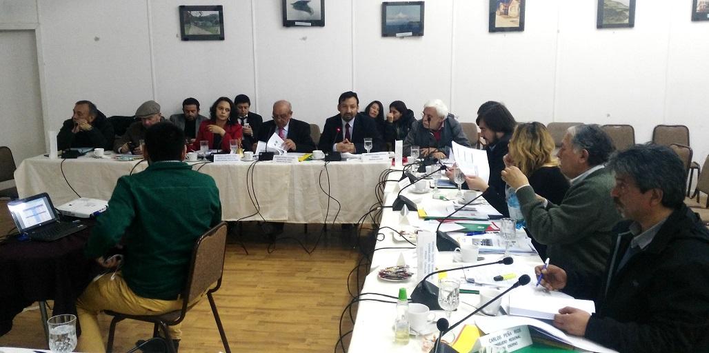 SEREMI DE GOBIERNO FRANISCO REYES CASTRO EN PLENO DEL CONSEJO REGIONAL - QUEILEN (2)