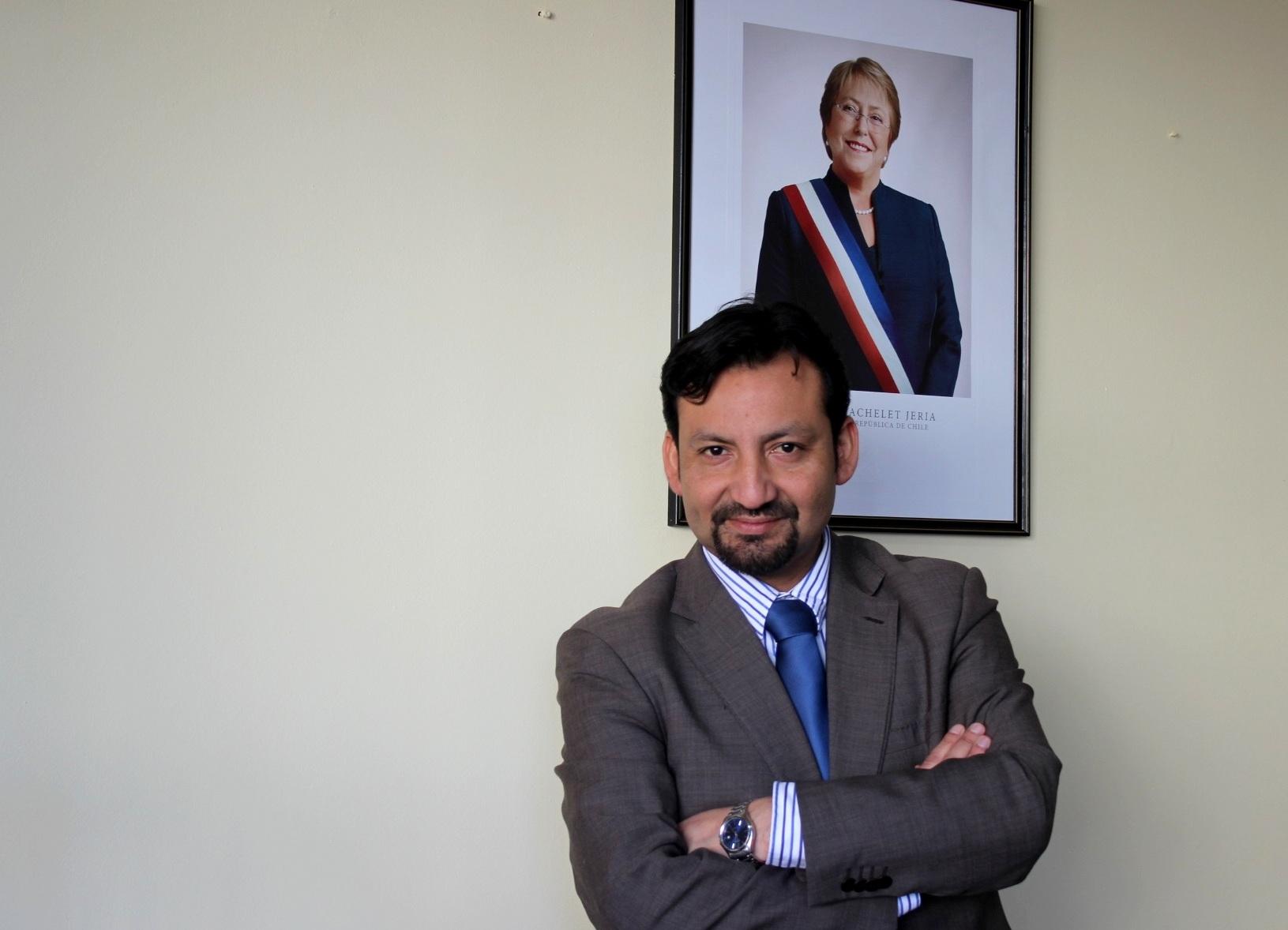 SEREMI DE GOBIERNO FRANCISCO REYES CASTRO