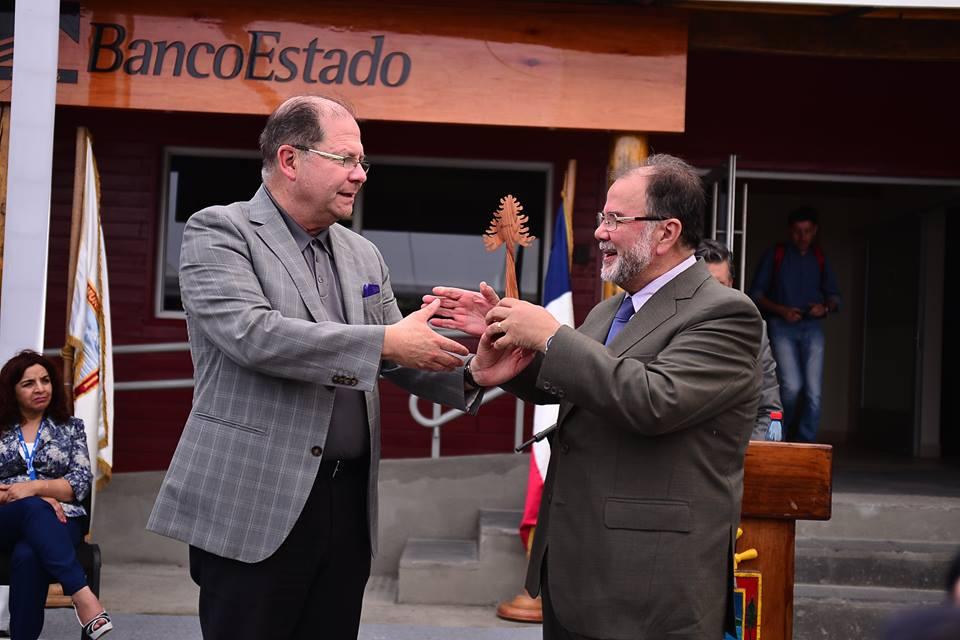 alcalde y presidente banco
