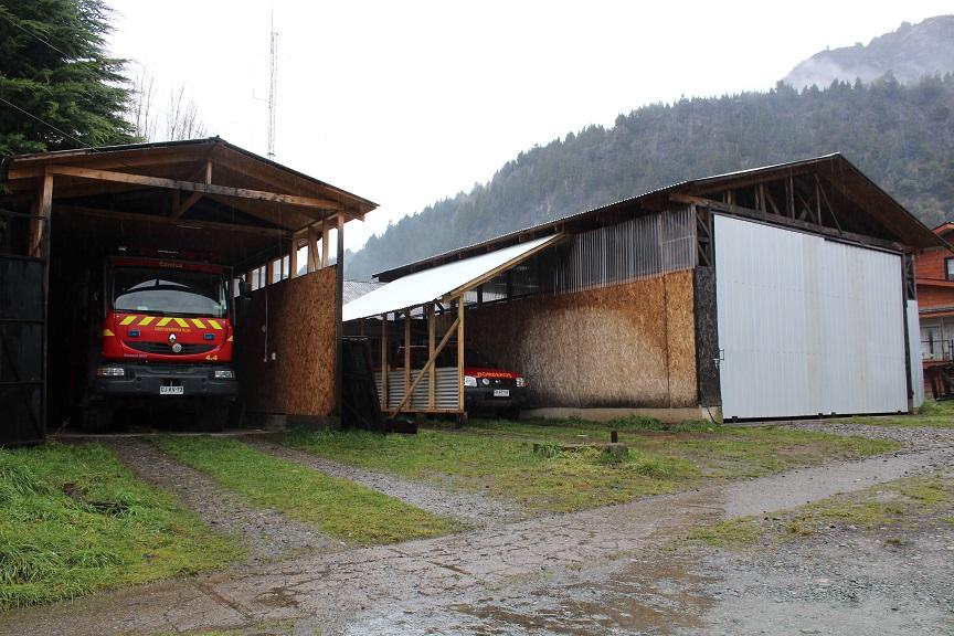cuartel bomberos paint
